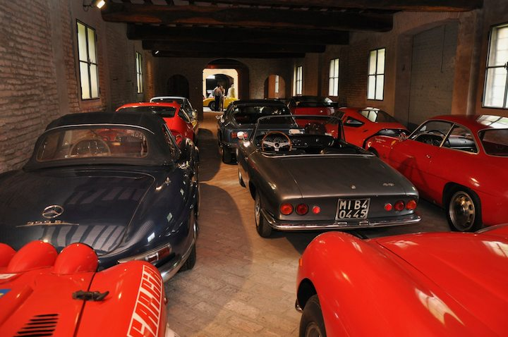 Mercedes-Benz 300SL Roadster, ASA 1000 GT Spider and rest of post-war stable
