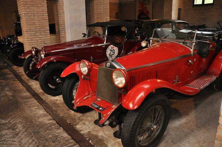 Pair of Alfa Romeo 6C 1750 GS
