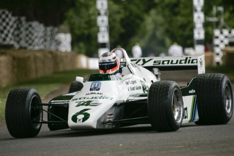 Williams-Cosworth FW08