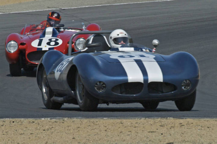 1959 Hagemann Sutton Special - Butch Gilbert and 1957 Ferrari 250 Testa Rossa - Jon Shirley