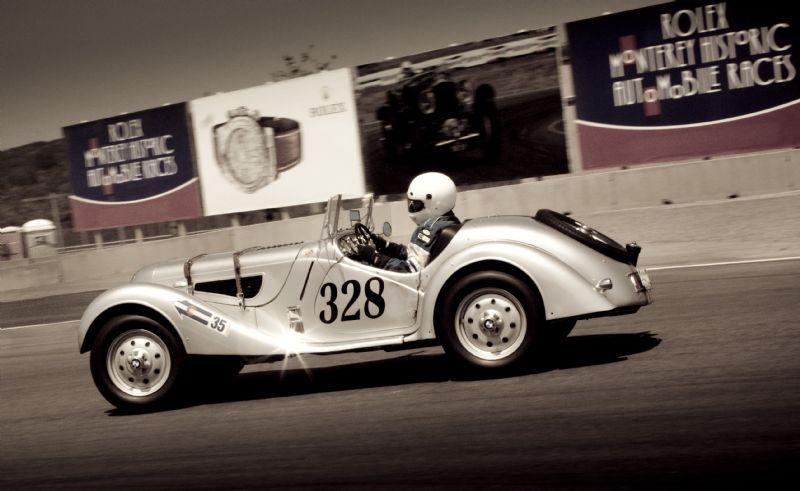 1939 BMW 328 driven by John Fitzpatrick