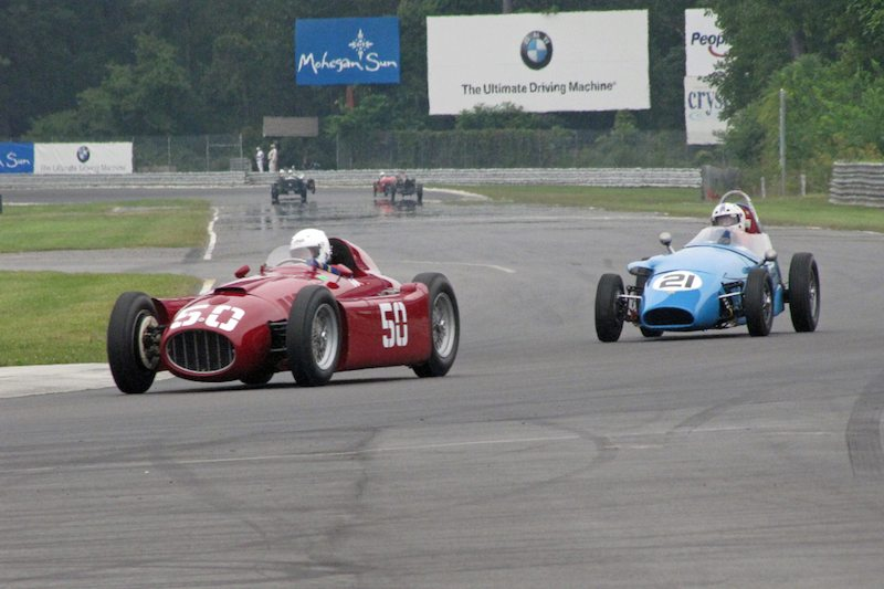 1955 Lancia D50 - The Collier Collection and 1959 Stanguellini - Bill Gelles