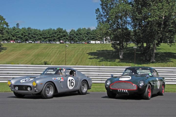 1961 Ferrari 250 GT SWB and 1960 Aston Martin DB4 GT