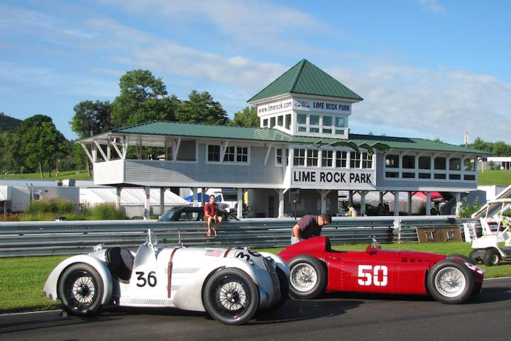 1935 MG PA-1667 and 1955 Lancia D50 - The Collier Collecti