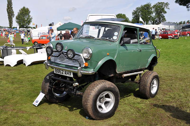 Mini not big enough for some people