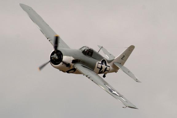 FM-2 Wildcat needs 48 turns of a hand crank to raise/lower landing gear