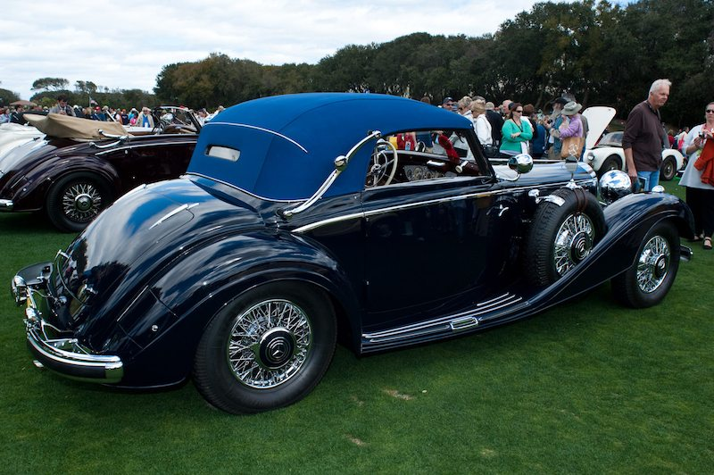 1937 Mercedes-Benz 540K Cabriolet A - Off Brothers Collection