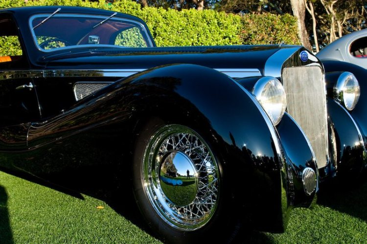 1937 Delage D8 120SS Aerodynamic Coupe: Patterson Collection