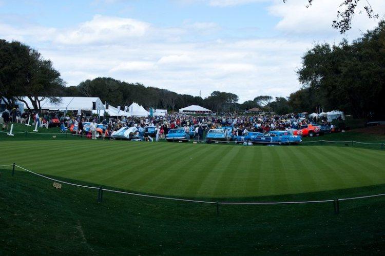 Panorama of Amelia Island Concours