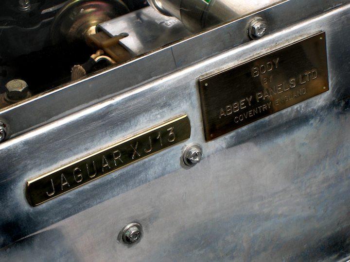 Jaguar XJ13 Chassis Plate