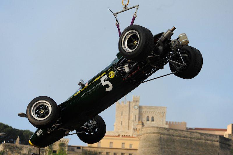 Towed Away - Lotus 41 of Gareth Williams