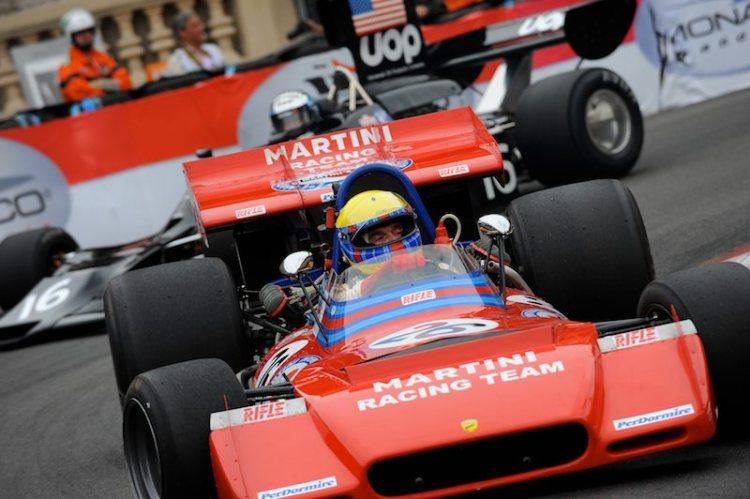 Shadow DN3 of Yves Saguato lurks behind Nanni Galli's Tecno PA123