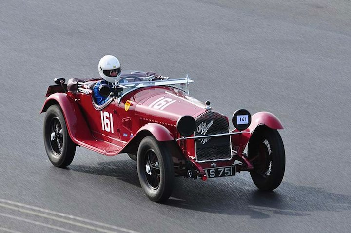 1930 Alfa Romeo 6C 1750 of Miss Alex Pilkington