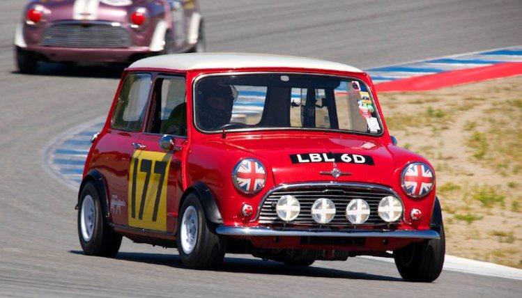 #177 Mini Cooper of Dennis Racine.