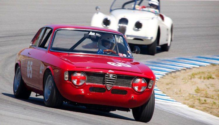 Castaing Marlie's 1965 Alfa Romeo GTA.