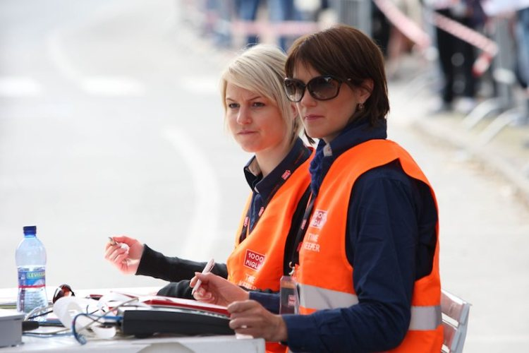 Timing and scoring at Mille Miglia