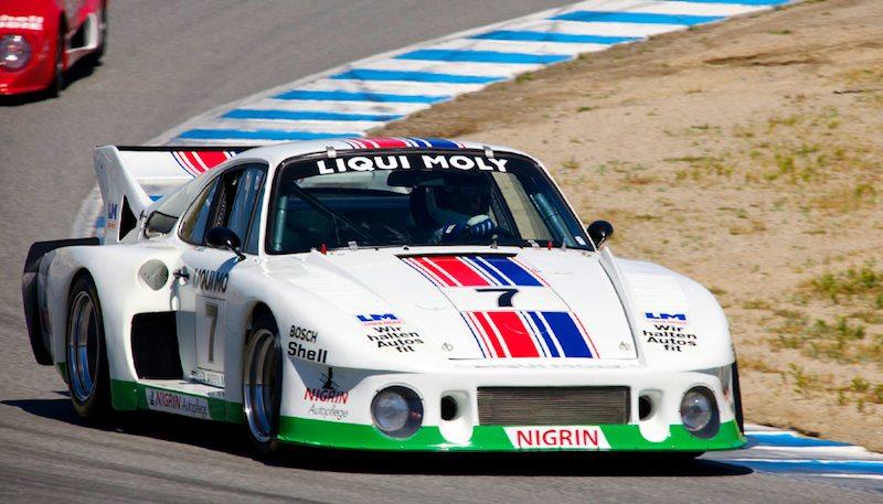 Richard Harris in his 1979 935J Porsche.