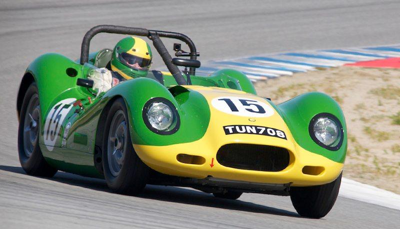 Brent Blackman's 1957 Lister Jaguar.