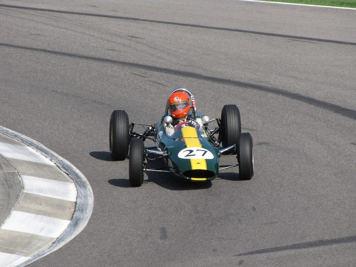 Lotus 27 - James King