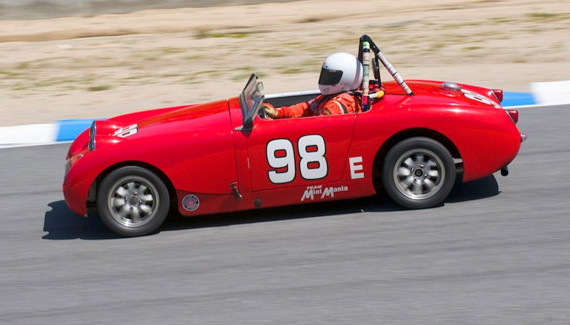 1959 Austin-Healey Sprite of Len Pieri.