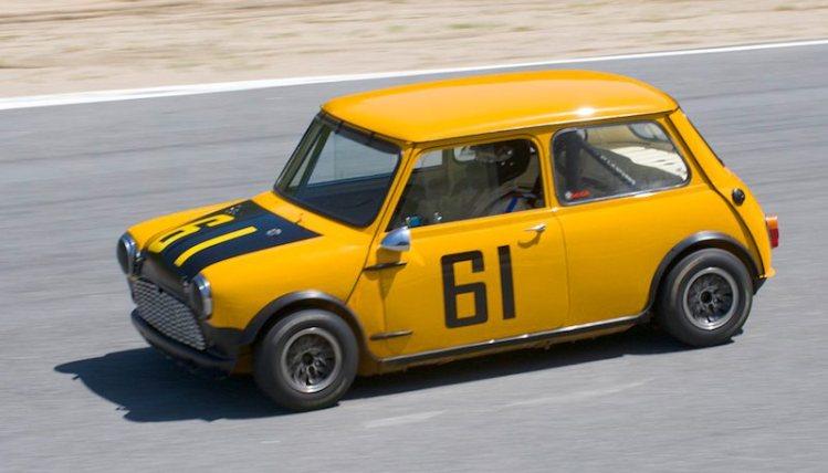 Fast 1961 Mini Cooper of Julie Racine.