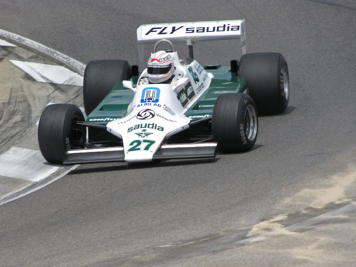 Williams FW07B - Hamish Somerville