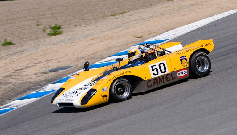 Lola T212 of Scott Emerson.