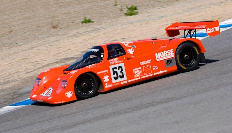 Jimmy Castle Jr.'s 1990 Porsche 962C.