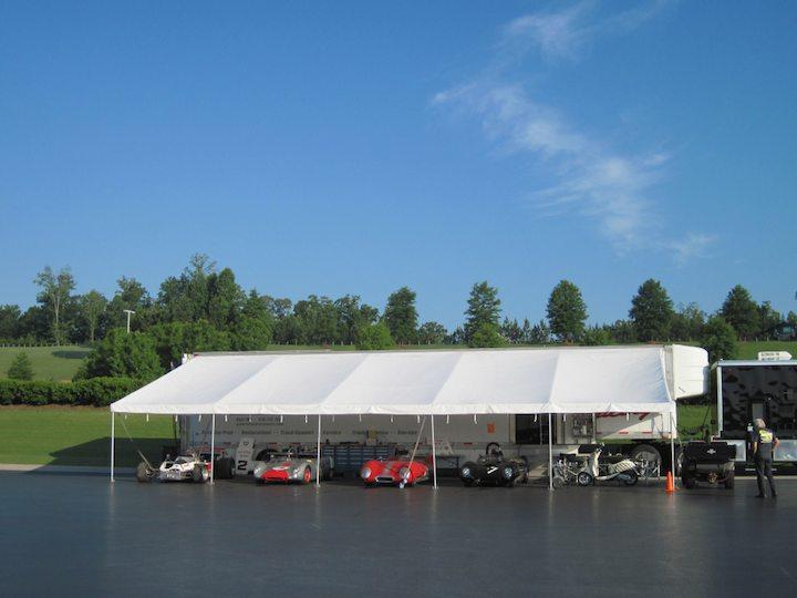 Paddock at Barber Motorsports