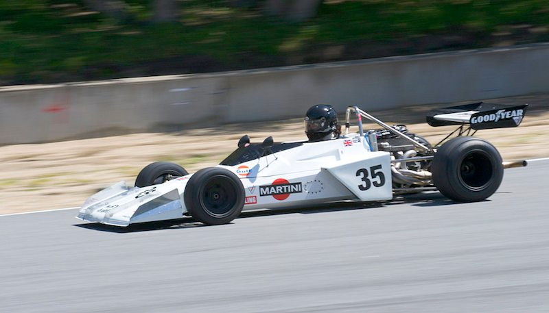 Brabham BT40 driven by Jonathan Burke.