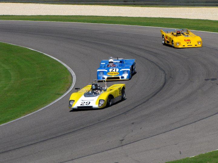 Lola T212 - Jeffrey Anderson and Chevron B23 - Nick Incantalupo