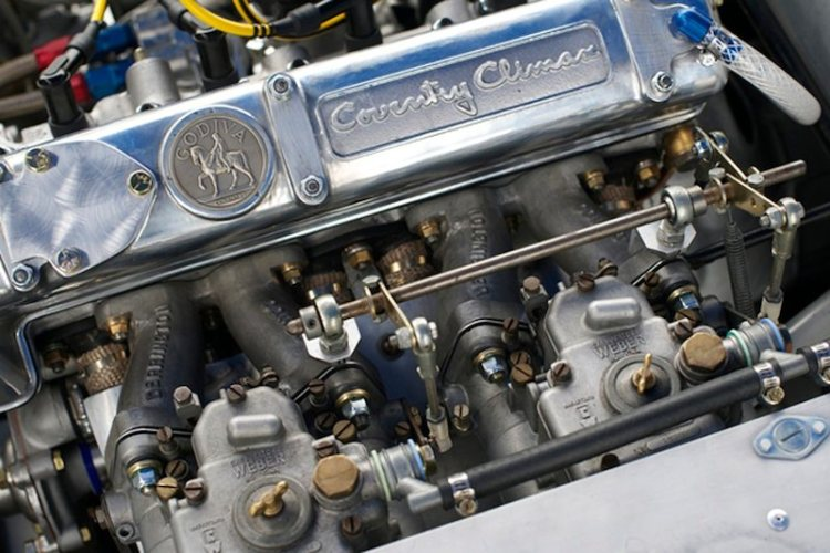 Coventry Climax in the Lotus Eleven #411