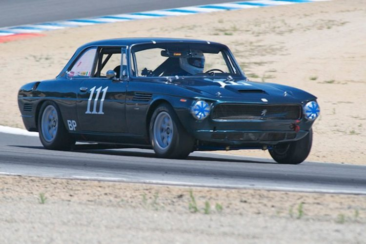 !967 ISO Rivolta Chevrolet driven quickly by Pete Whitehead.