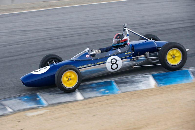 Phil Ribbs in his Lotus 27.