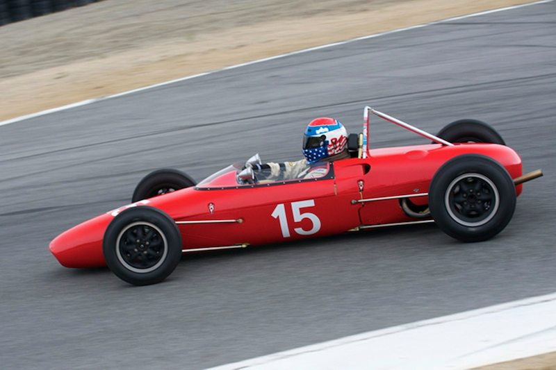 Pete Ball in his #15 Lola MK5A.
