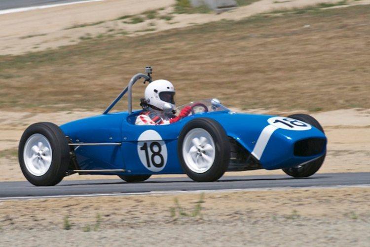 Thomas Gibson's 60 Lotus 18.