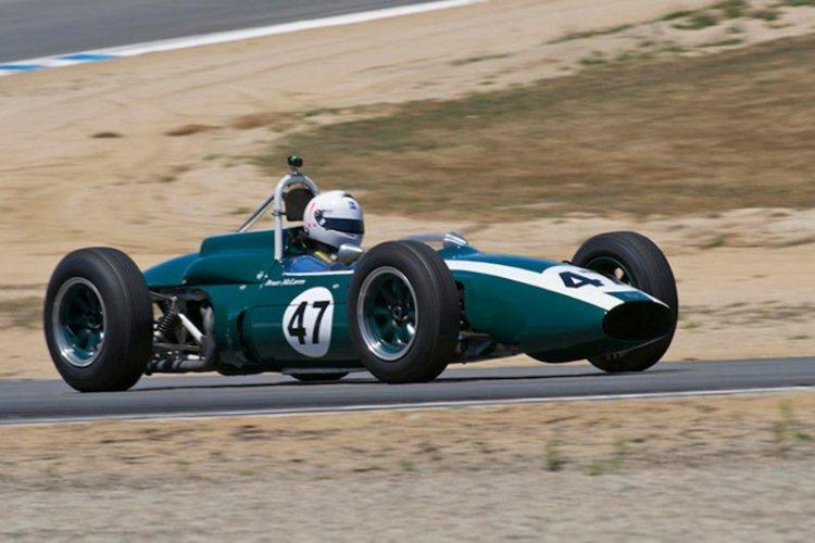 Ex-Bruce McLaren Cooper T-62 driven by Bob McCormack.