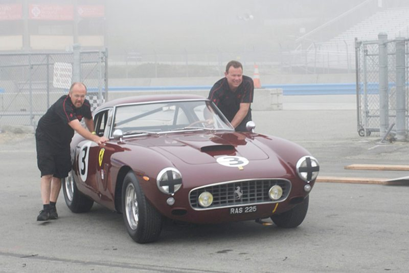 Rolling out Nick Colonna's Ferrari 250 GT SWB