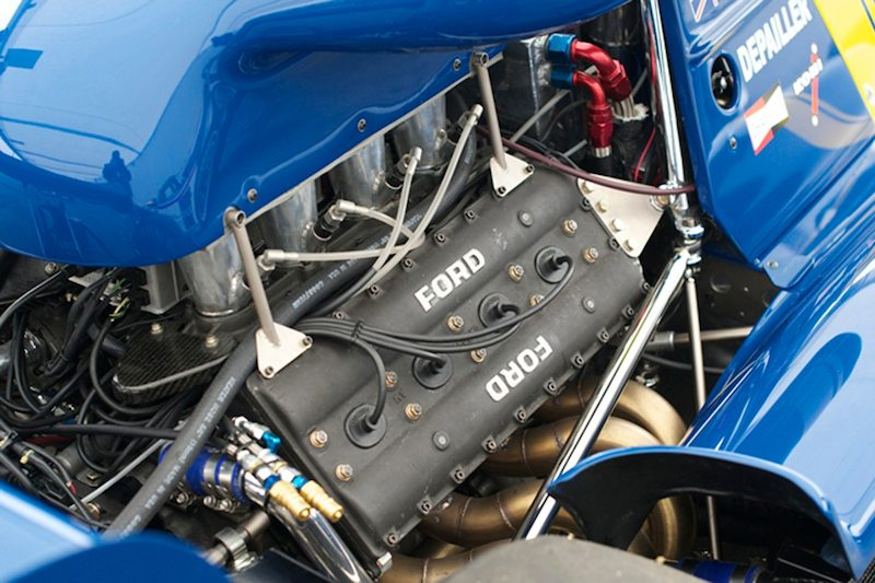 Ford DFV in Rudy Junco's 1976 Tyrrell P34 F-1