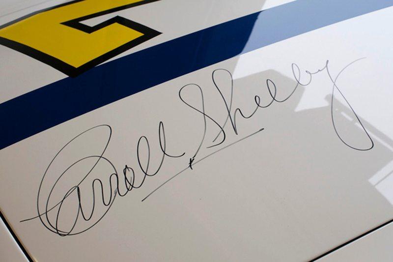 Carrol Shelby-signed Maserati Tipo 61 Birdcage