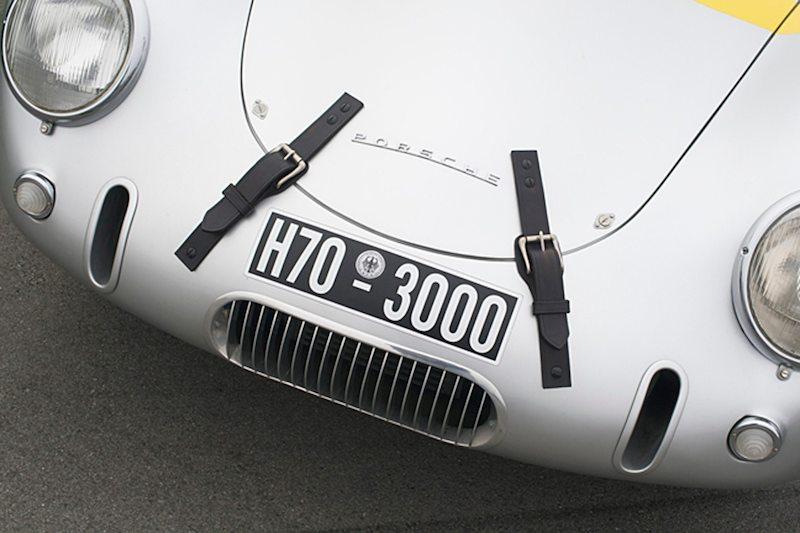 Porsche Glockler's oil and brake nose cooling vents.