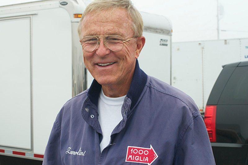 Herb Wysard, driver of the Glockler Porsche.