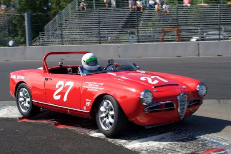 Denny Pillar's Alfa Romeo 1600cc.