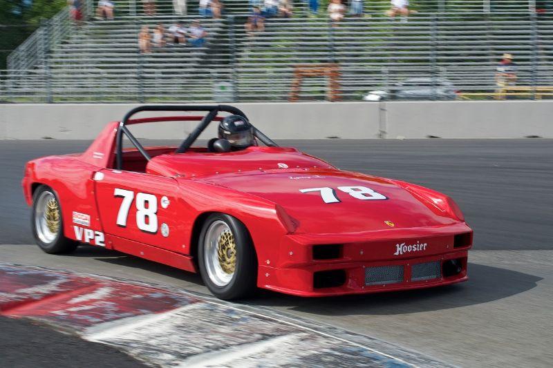1971 Porsche 914 2 liter driven by Russ Watson.