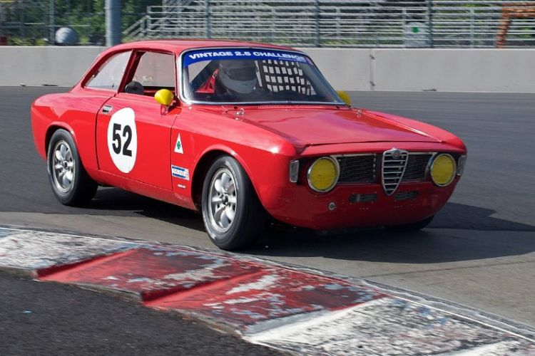 Tom O'Callaghan's 1966 Alfa Romeo Sprint GT.