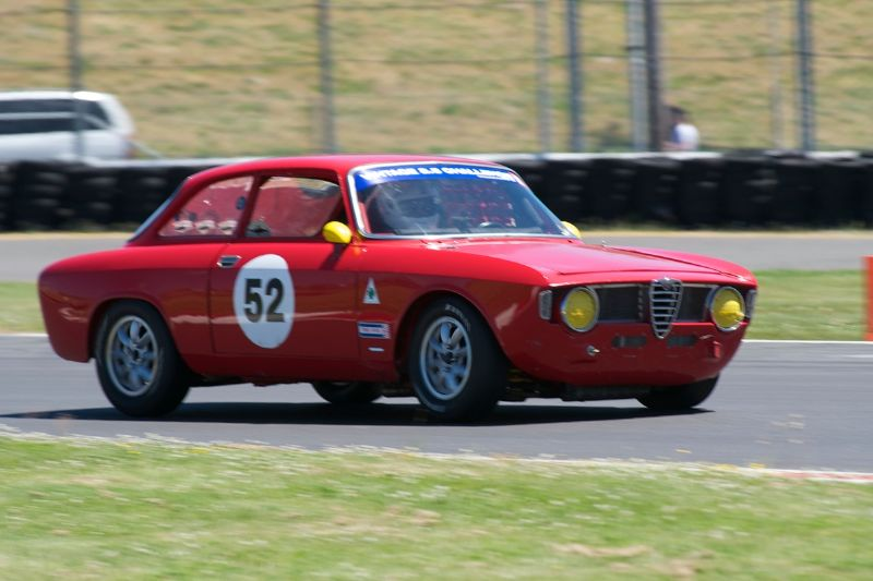 1966 Alfa Romeo Sprint driven by Tom O'Callaghan.