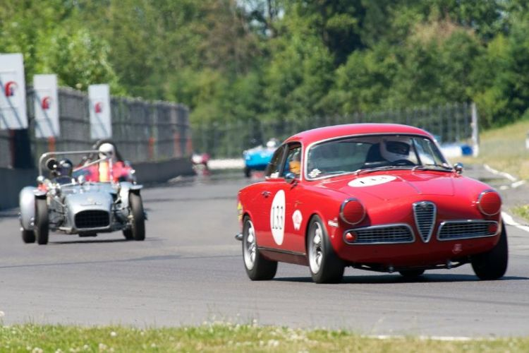 Bernard Basil's 1960 Alfa Romeo Giulietta Sprint.