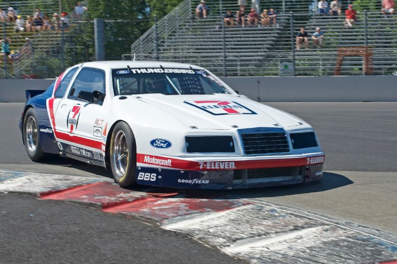 1985 Ford Thunderbird driven by John McKenna Jr.