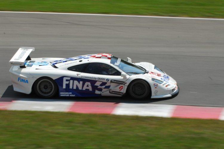 #9- Jacquers Villenuve- McLeren GTR,