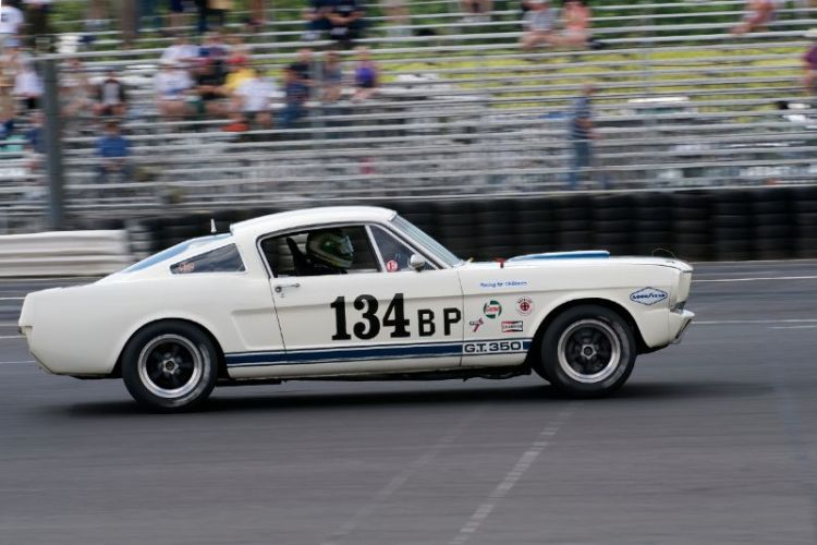 1965 Shelby 350GT driven by John McKenna jr.
